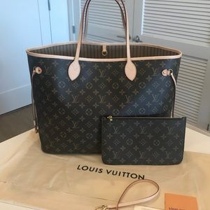 Louis Vuitton Monogram Neverfull GM.